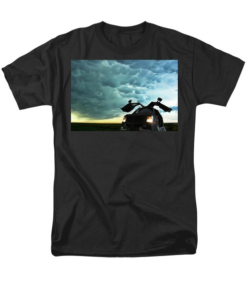 Men's T-Shirt  (Regular Fit) featuring the photograph Dominating The Storm by Ryan Crouse