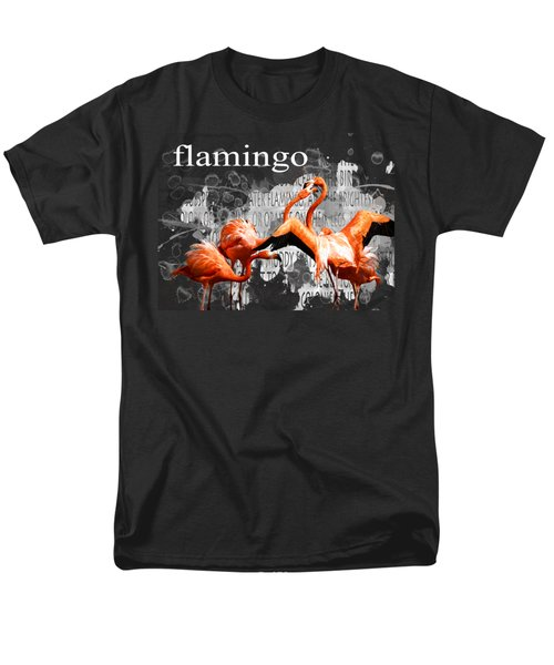 Flamingo Men's T-Shirt  (Regular Fit) by Methune Hively
