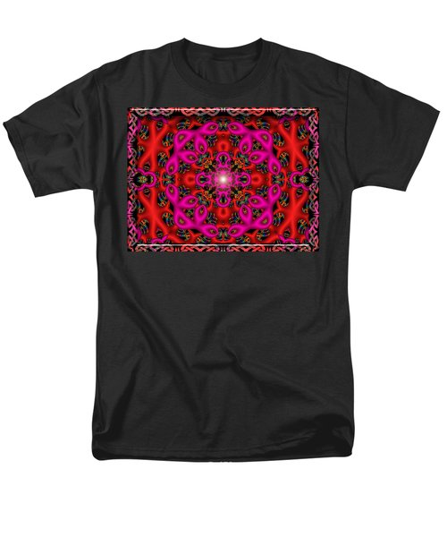 Men's T-Shirt  (Regular Fit) featuring the digital art Glimmer Of Hope by Robert Orinski