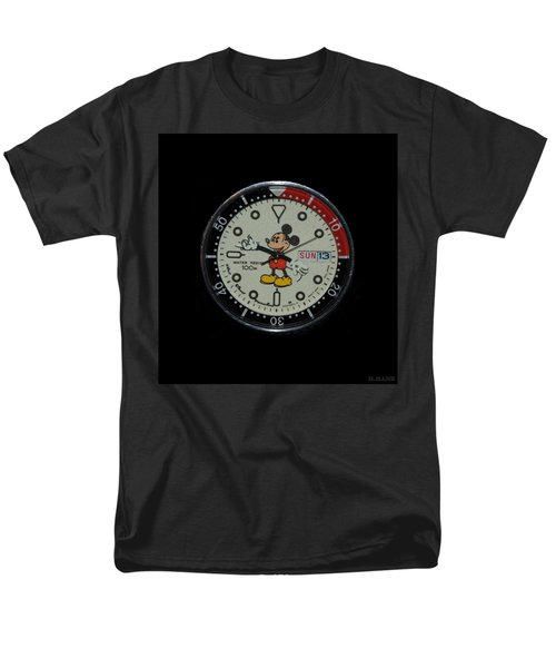 Mickey Mouse Watch Face Men's T-Shirt  (Regular Fit) by Rob Hans