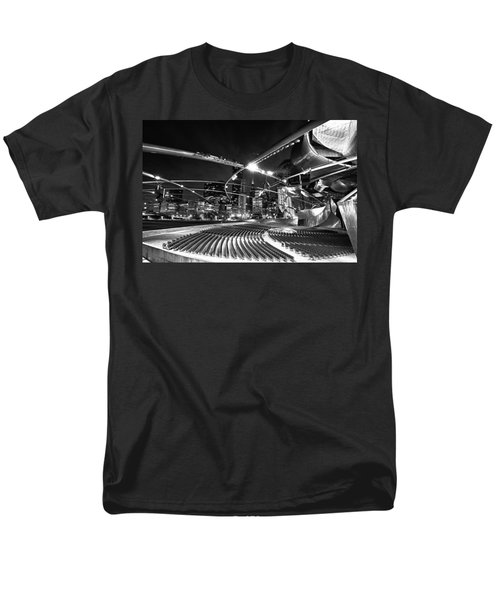 Millennium Park Men's T-Shirt  (Regular Fit) by Sebastian Musial