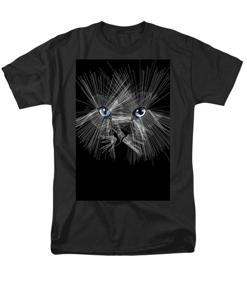 Mister Whiskers Men's T-Shirt  (Regular Fit) by ISAW Gallery