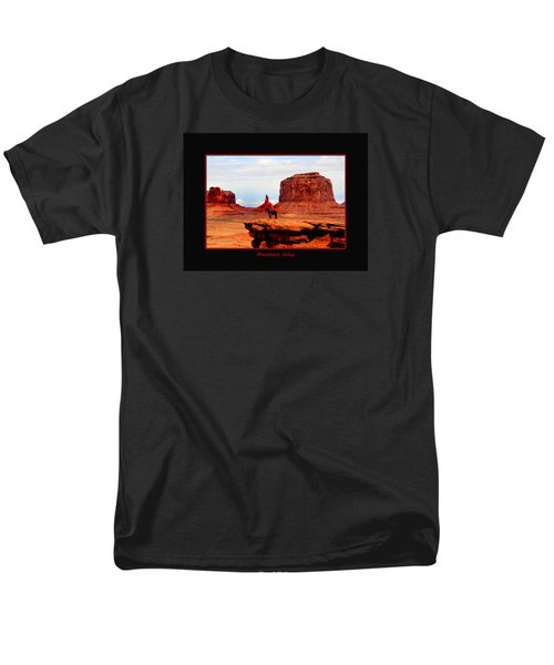 Men's T-Shirt  (Regular Fit) featuring the photograph Monument Valley II by Tom Prendergast