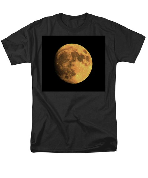 Moon Men's T-Shirt  (Regular Fit) by Rowana Ray