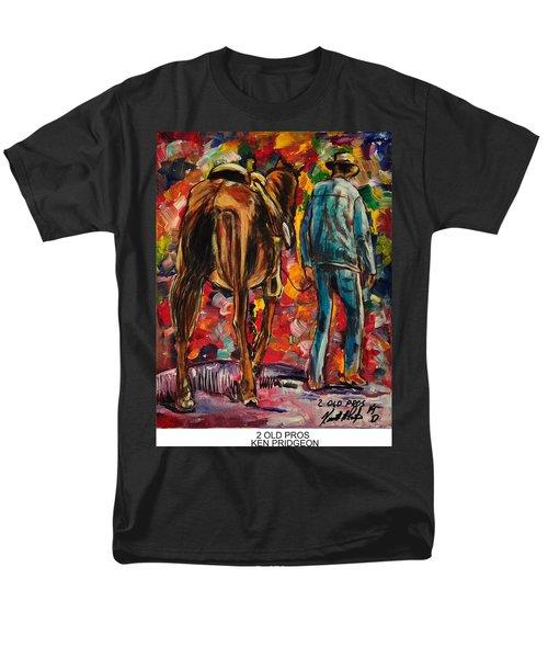 2 Old Pros Men's T-Shirt  (Regular Fit) by Ken Pridgeon