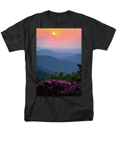 Roan Mountain Sunset Men's T-Shirt  (Regular Fit) by Serge Skiba