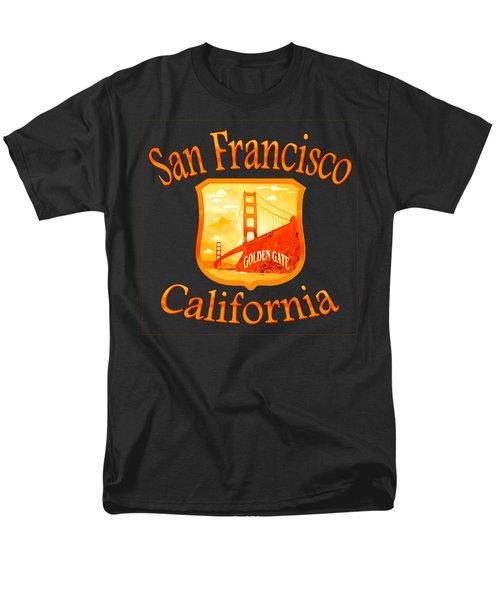 San Francisco California Design Men's T-Shirt  (Regular Fit)