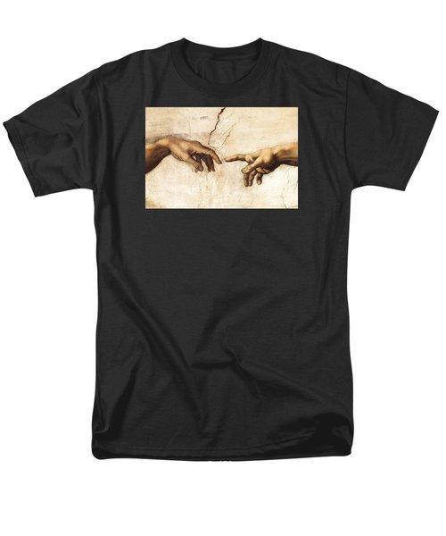 The Creation Of Adam Men's T-Shirt  (Regular Fit) by Michelangelo