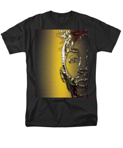 Travis Barker Blink 182 Collection Men's T-Shirt  (Regular Fit) by Marvin Blaine
