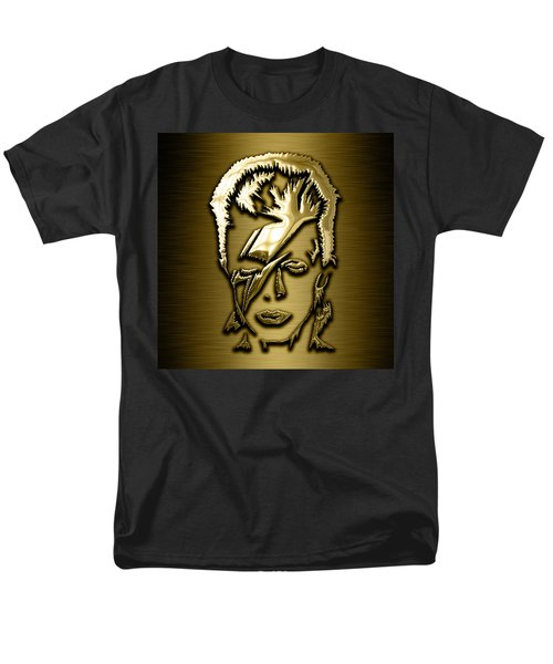 David Bowie Collection Men's T-Shirt  (Regular Fit) by Marvin Blaine