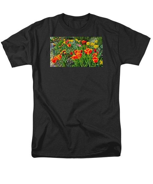 2015 Acewood Tulips 1 Men's T-Shirt  (Regular Fit) by Janis Nussbaum Senungetuk