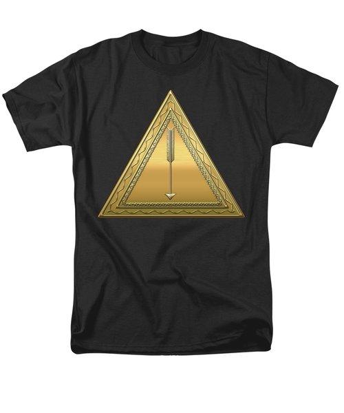 21st Degree Mason - Noachite Or Prussian Knight Masonic  Men's T-Shirt  (Regular Fit) by Serge Averbukh