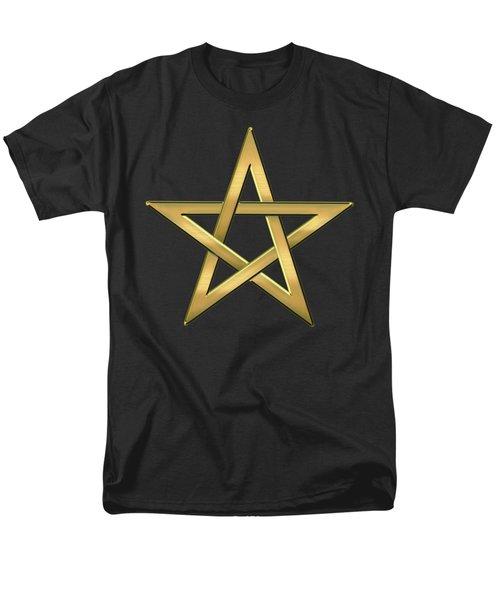 28th Degree Mason - Knight Commander Of The Temple Masonic  Men's T-Shirt  (Regular Fit) by Serge Averbukh