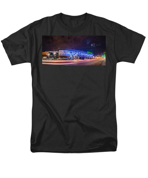 April 2015 - Birmingham Alabama Regions Field Minor League Baseb Men's T-Shirt  (Regular Fit) by Alex Grichenko