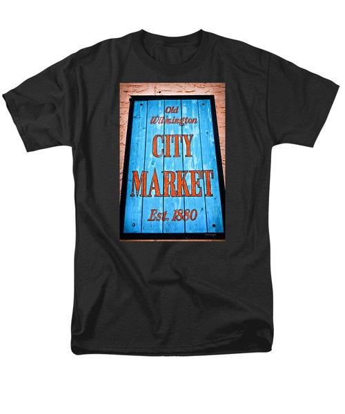 City Market Men's T-Shirt  (Regular Fit)