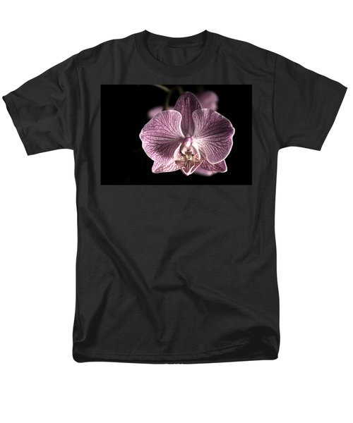 Close Up Shoot Of A Beautiful Orchid Blossom Men's T-Shirt  (Regular Fit) by Ulrich Schade
