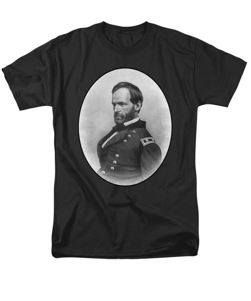 General Sherman Men's T-Shirt  (Regular Fit) by War Is Hell Store