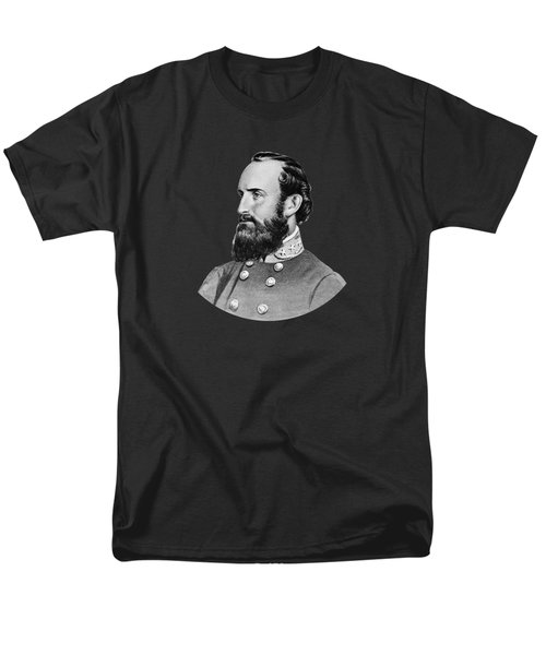 Stonewall Jackson Men's T-Shirt  (Regular Fit) by War Is Hell Store