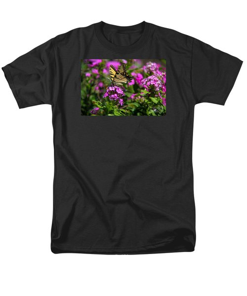Men's T-Shirt  (Regular Fit) featuring the photograph Tiger Swallowtail by Yumi Johnson