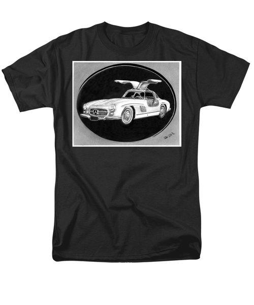 300 Sl Gullwing Men's T-Shirt  (Regular Fit) by Peter Piatt