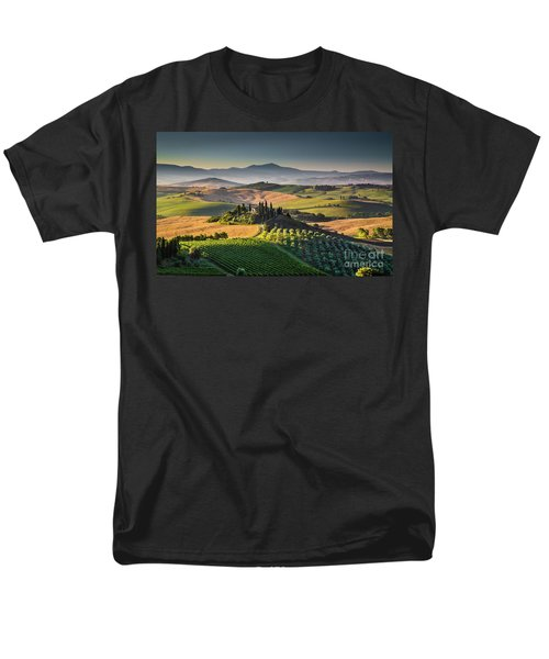 A Morning In Tuscany Men's T-Shirt  (Regular Fit) by JR Photography