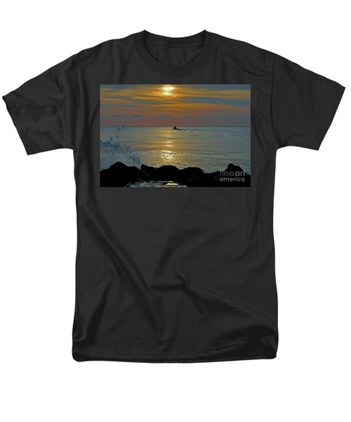 Men's T-Shirt  (Regular Fit) featuring the photograph 4- Into The Day by Joseph Keane