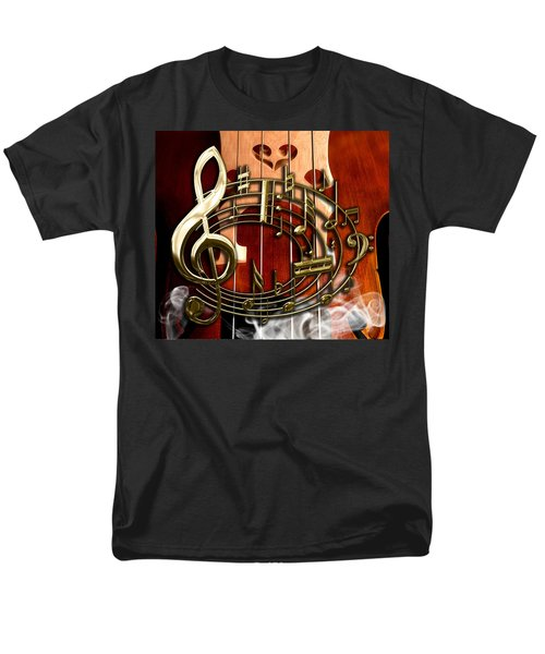 Musical Collection Men's T-Shirt  (Regular Fit) by Marvin Blaine