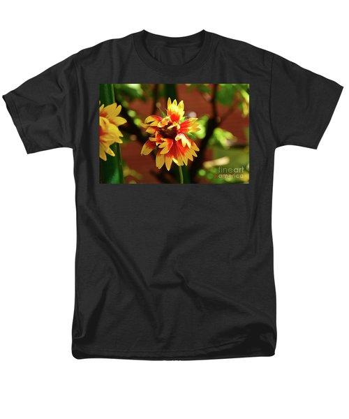 Men's T-Shirt  (Regular Fit) featuring the photograph Summer Flower by Elvira Ladocki