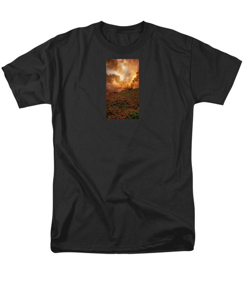 Men's T-Shirt  (Regular Fit) featuring the photograph 4370 by Peter Holme III