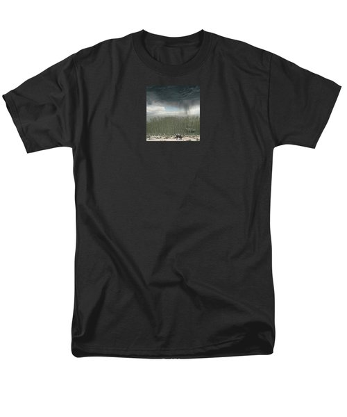 Men's T-Shirt  (Regular Fit) featuring the photograph 4375 by Peter Holme III