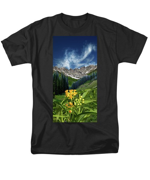 Men's T-Shirt  (Regular Fit) featuring the photograph 4415 by Peter Holme III