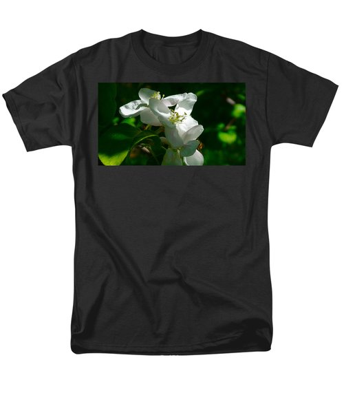 Apple Blossoms Men's T-Shirt  (Regular Fit) by Johanna Bruwer