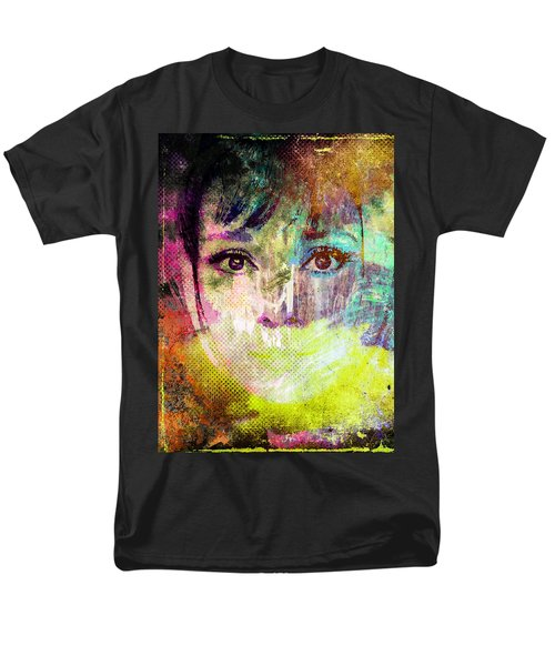 Audrey Hepburn Men's T-Shirt  (Regular Fit) by Svelby Art