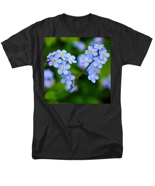 Forget Me Not Men's T-Shirt  (Regular Fit) by Jouko Lehto