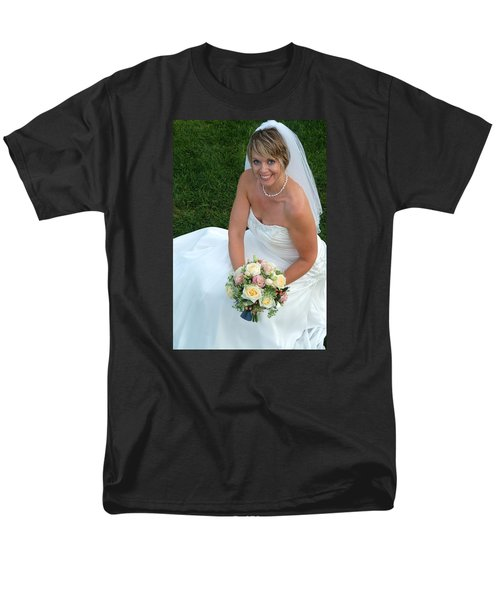Men's T-Shirt  (Regular Fit) featuring the photograph Rebecca And David by Michael Dorn