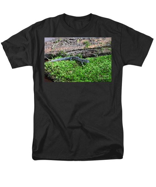 Slimy Salamander Men's T-Shirt  (Regular Fit) by Ted Kinsman