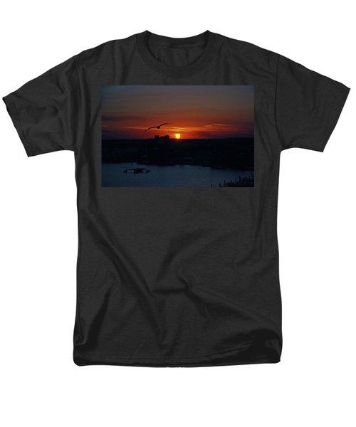 Men's T-Shirt  (Regular Fit) featuring the photograph 6- Sunset by Joseph Keane