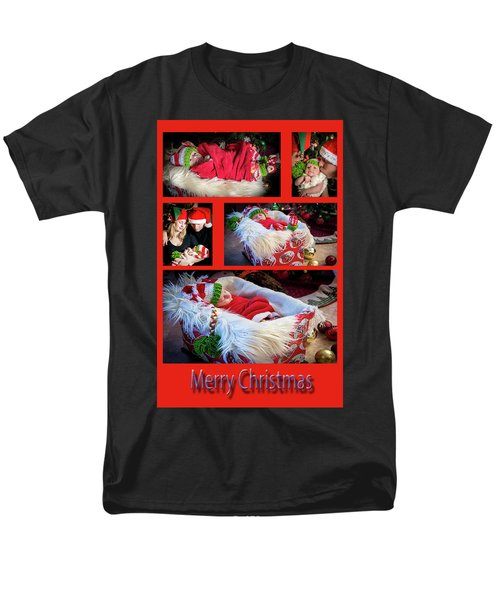 Merry Christmas Men's T-Shirt  (Regular Fit) by Ivete Basso Photography