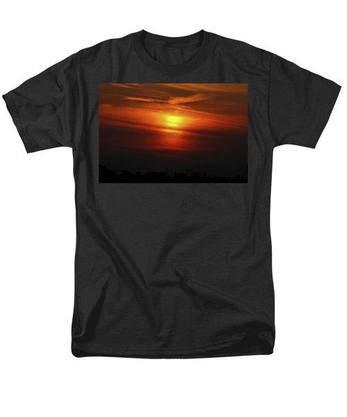 Men's T-Shirt  (Regular Fit) featuring the photograph 7- Sunset by Joseph Keane