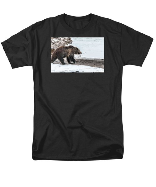 Men's T-Shirt  (Regular Fit) featuring the photograph #760 At The River In Early Spring by Yeates Photography