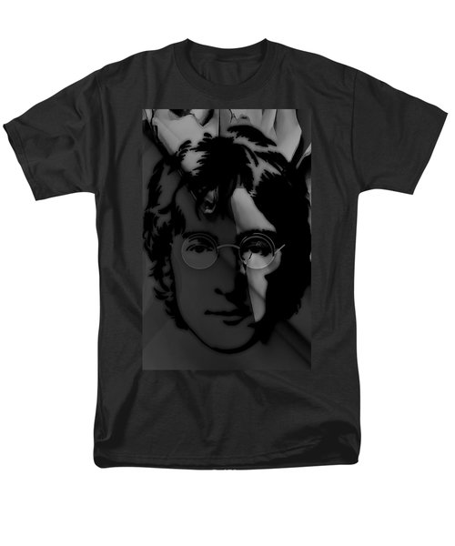 John Lennon Collection Men's T-Shirt  (Regular Fit) by Marvin Blaine