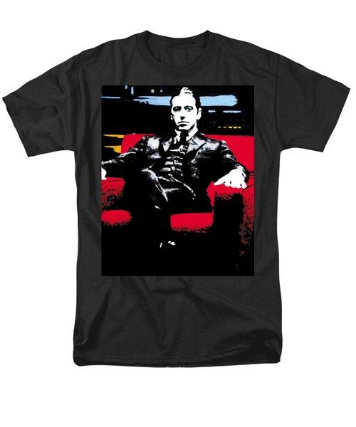 The Godfather Men's T-Shirt  (Regular Fit) by Luis Ludzska