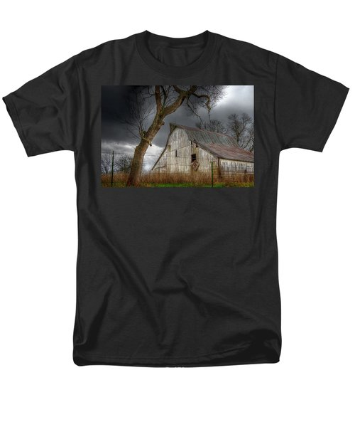 A Barn In The Storm 2 Men's T-Shirt  (Regular Fit) by Karen McKenzie McAdoo