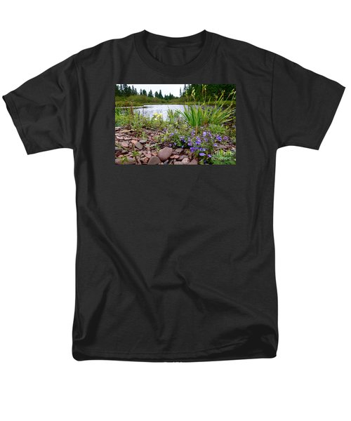 Men's T-Shirt  (Regular Fit) featuring the photograph A Beautiful Rainy Day by Sandra Updyke