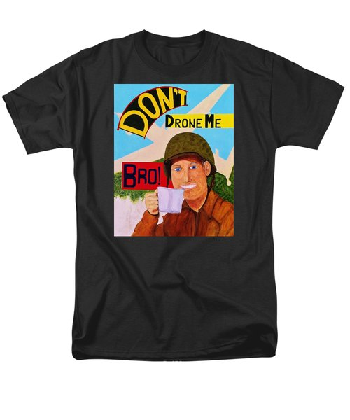 Men's T-Shirt  (Regular Fit) featuring the painting A Cup Of Joe by Rand Swift