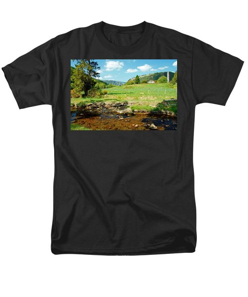 A Day In Glendalough Men's T-Shirt  (Regular Fit) by Martina Fagan