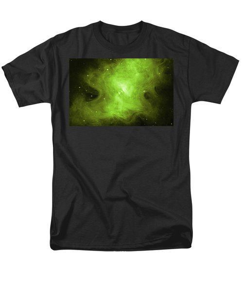 Men's T-Shirt  (Regular Fit) featuring the photograph A Death Star's Ghostly Glow by Nasa