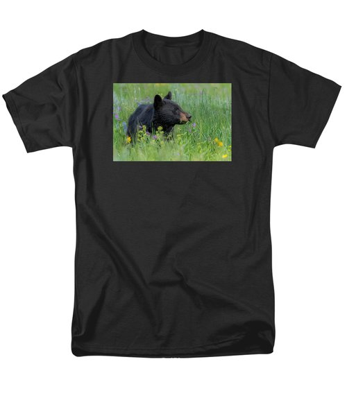 Men's T-Shirt  (Regular Fit) featuring the photograph A Field Of Dreams by Yeates Photography
