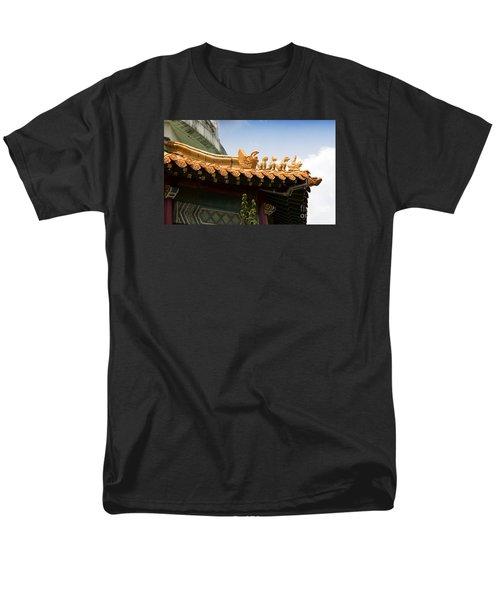 Men's T-Shirt  (Regular Fit) featuring the photograph A Golden Parade by Rebecca Davis