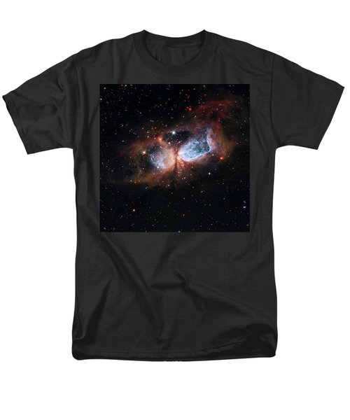 Men's T-Shirt  (Regular Fit) featuring the photograph A Composite Image Of The Swan by Nasa
